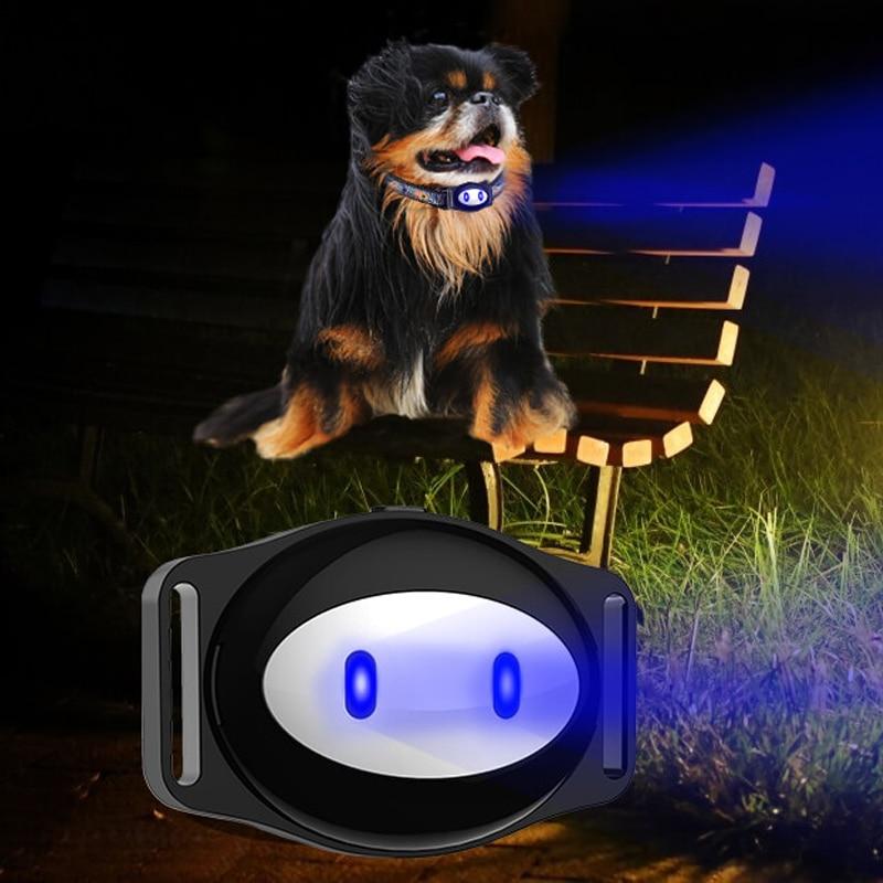 Mini Pet GPS Tracker Ūdensnecaurlaidīgs Smart GPS Tracker ar apkakli Mājdzīvniekiem Cat Dog GPS + LBS Atrašanās vieta Bezmaksas APP LED indikators