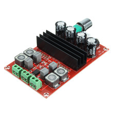 122x65x23mm DC12-24V TDA3116 D2 2*100W Dual Channel Digital Audio Amplifier Board With Cable Durable