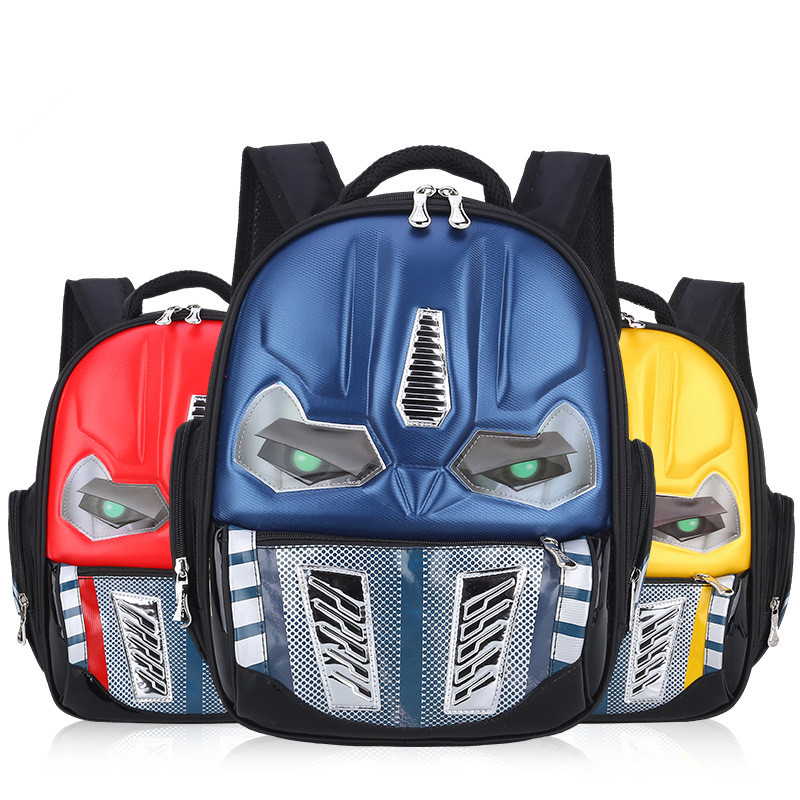 Image 2 - CHUNLONG 3D Cartoon School Bags For Boys and grils Children Backpacks Kids Child School Bag personality Backpack mochila escolar-in School Bags from Luggage & Bags on AliExpress