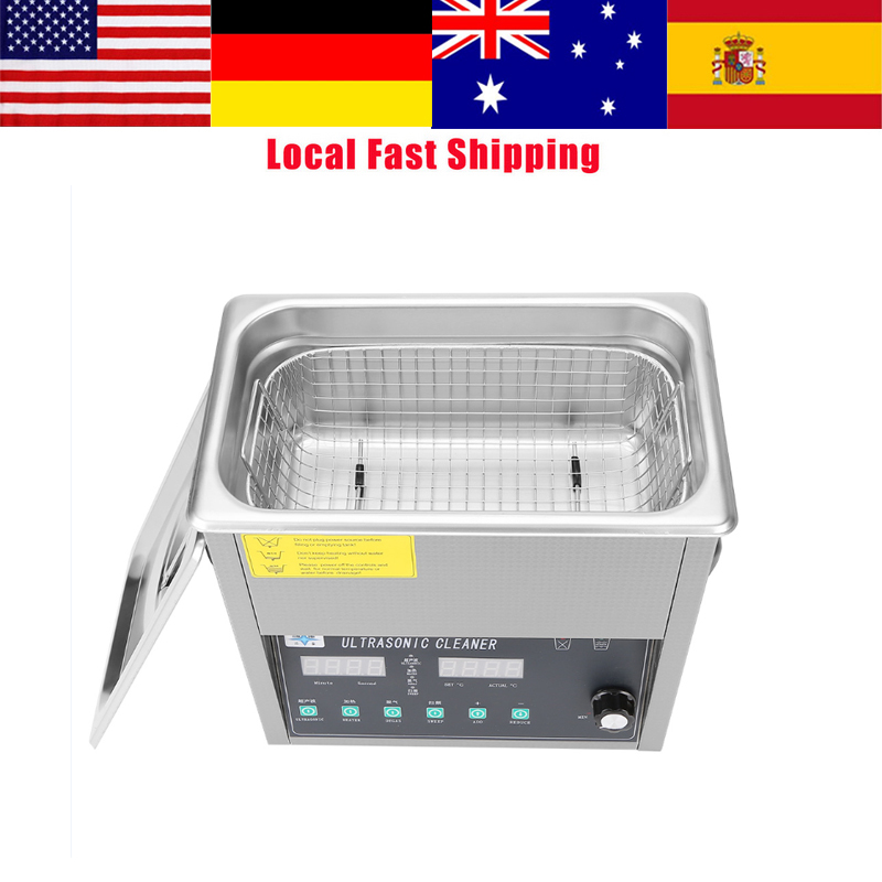 3L/6L/10L/14L/15L/19L/22L/30L Stainless Steel Digital Ultrasonic Cleaning Machine Ultra sonic Cleaner Bath For Jewelry Watch hot 15l stainless steel digital ultrasonic cleaner with timer and heater including washing basket