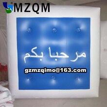 2 м 2 м надувной квадратный рекламные шары с гелием