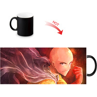ONE PUNCH-MAN printed color changing mugs home porcelain tea milk cup personalized ceramic water coffee morph mug 12oz 1