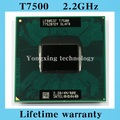 Lifetime warranty Core 2 Duo T7500 2.2GHz 4M 800 Dual Notebook processors Laptop CPU Socket PGA 478 pin Computer Original