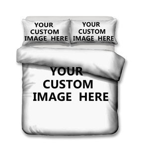 Image 2 - Bedding Set 3D Printed Duvet Cover Bed Set Custom Pattern Customize Home Textiles for Adults Bedclothes with Pillowcase