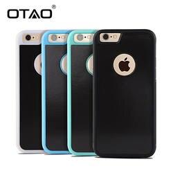OTAO анти Гравитация телефон сумка чехол для iPhone X 8 7 6 S плюс ТПУ рамки волшебный Nano Антигравитационные Чехлы адсорбировать автомобиль чехол