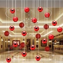 Рождественские украшения для дома Рождественская елка подвесной шар красочные рождественские украшения Блестящий Рождество Счастливый год Декор