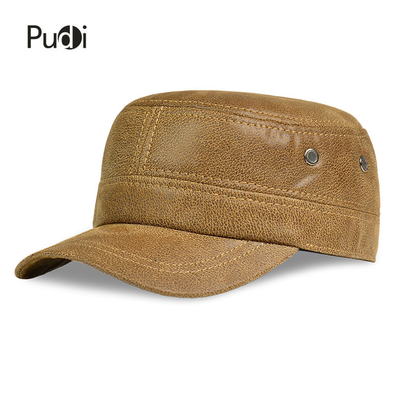 HL019 Բնական կաշվե բեյսբոլի գլխարկ Fashion - Հագուստի պարագաներ - Լուսանկար 5