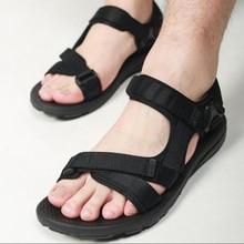 2017 summer gladiator men's beach sandals outdoor shoes Roman men casual shoe flat flip flops large size 45 good quality