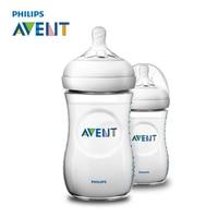 AVENT 2pcs 260ml Baby Feeding Bottle BPA Free Infant Juice Milk Water Natural Polypropylene Bottles Feeding Cup Garrafa Nursing