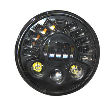 CO LIGHT Parking Light 30W 70W Hi-Lo Beam Headlamps H4 Round 7 Inch Car Headlights for Off Road Jeep Wrangler Bike