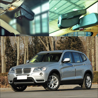 For BMW X3 Before 2012 Car DVR Car Video Recorder Hidden Installation Novatek 96655 Wifi FHD