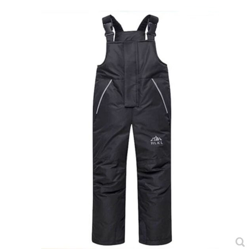 07dcc28d3 Winter 2019 Children Overall Boys and Girls Ski Pants Waterproof and ...