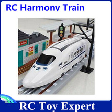 Medium remote control Trains variable speed crh bullet electric toy car RC Trains
