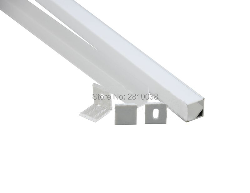 50 X 1M Կոմպլեկտներ / Շատ աջ անկյուն - LED լուսավորություն - Լուսանկար 3