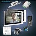 HOMSECUR 9 zoll Verdrahtete Video & Audio Smart Türklingel mit Ultra großen Bildschirm Monitor 1C2M Videosprechanlage Sicherheit und Schutz -