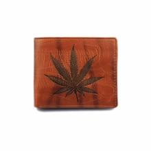 Fashion Leaf Magic Wallet Men Leather Card Cash Receipt Holder Organizer Wallet Purse Luxury Wallet Cards Quality Guarantee