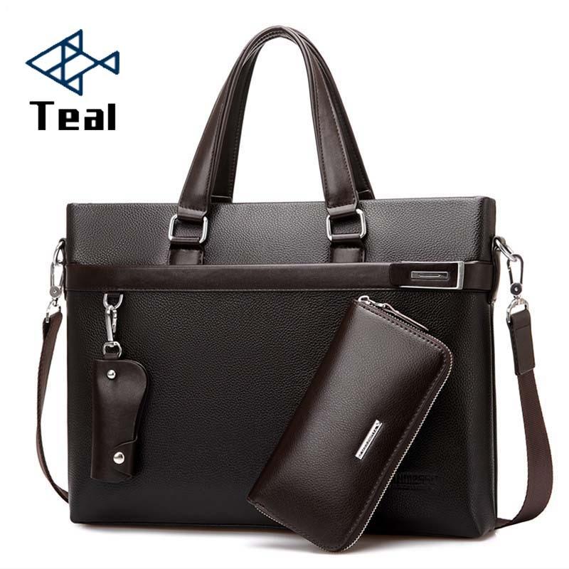 2017 새로운 패션 남자 비즈니스 서류 가방 남자 가방 - 서류 가방