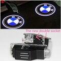 2x LED Luz de Aviso De Porta para bmw M logotipo desempenho projetor Para BMW X1 X3 X5 E60 E90 F10 F15 F16 F30 M3 M5 M6