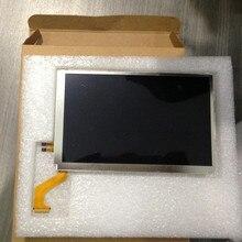 Для 3DS XL LL 3dsxl 3dsll верхняя запасная часть для ЖК-дисплей экран