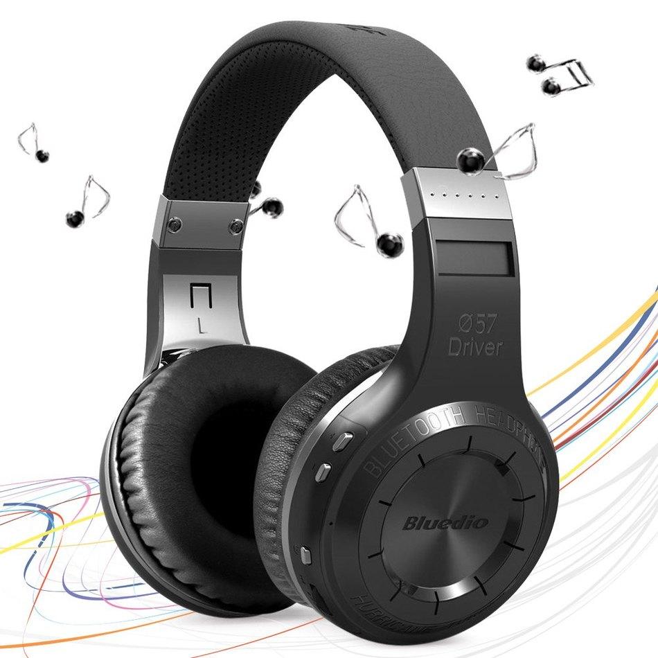Original Box Bluedio HT Wireless Bluetooth 4.1 Stereo Headphones Built-in Mic Handsfree for Calls