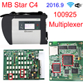 DHL Free 2016.9 MB Star C4 Sd Connect for Benz car & truck Auto Diagnostic-tool (12V+24V) Full Chip PCB with WIFI NO Software