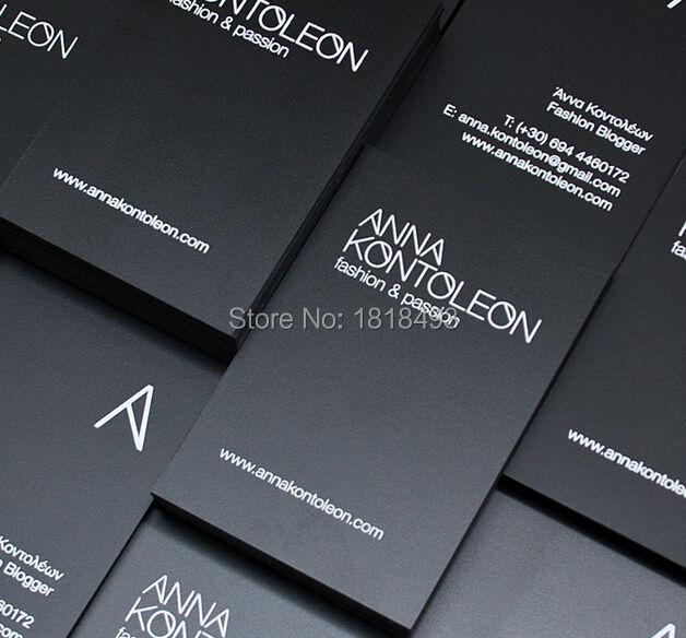 Personnaliser Vetements Noir Mat Papier Avec Blanc Polices Tags Carton Etiquette Volante Carte De