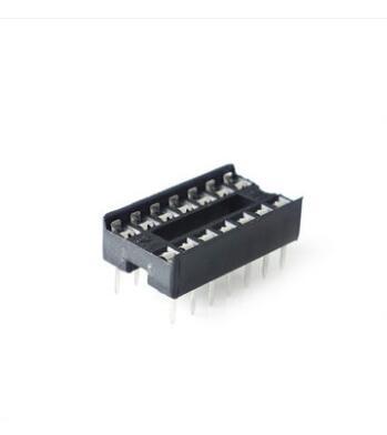 50 шт./лот цоколь 14P DIP14 ножной чип Монтажная розетка в наличии|ic socket|ic chipsocket ic | АлиЭкспресс