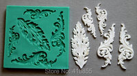 Silicone Mould METAL ORNAMENTS Sugarcraft Cake Decorating Fondant Fimo Mold