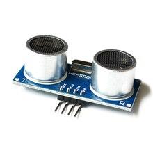 100 adet X 100% yeni en ucuz fiyat HC SR04 ultrasonik sensör mesafe ölçüm modülü