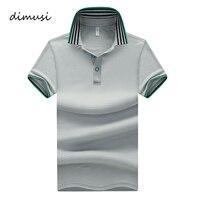 DIMUSI рубашки поло для мужчин лето повседневное короткий рукав хлопок s поло футболки Para Hombre брендовая одежда 5XL, TA079