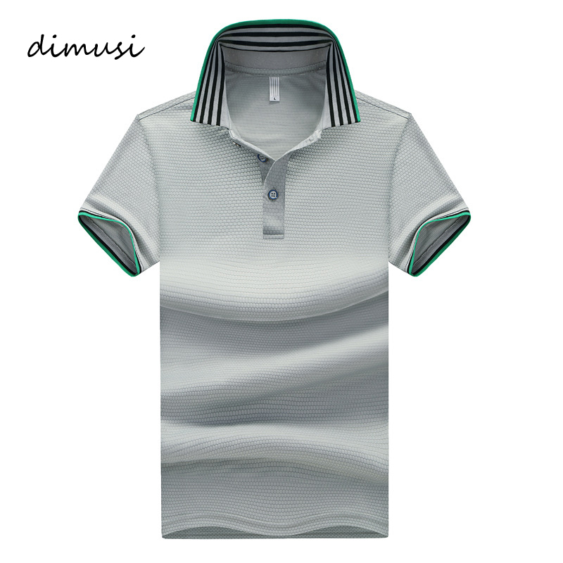 DIMUSI   Polo   Shirts Men Summer Casual Short Sleeve Casual Cotton Shirts Mens   Polo   Tees Para Hombre Brand Clothing 5XL,TA079