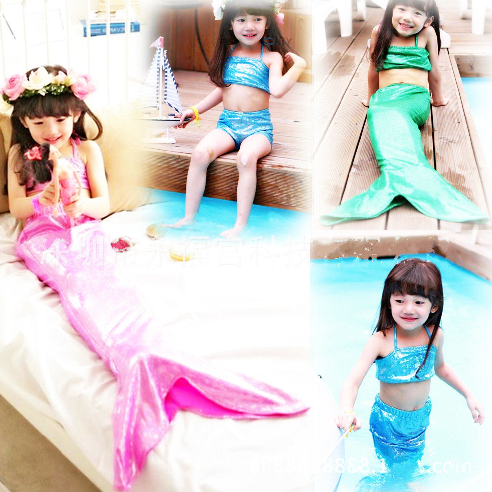 aliexpress com buy mermaid tails for swimming beautiful kids