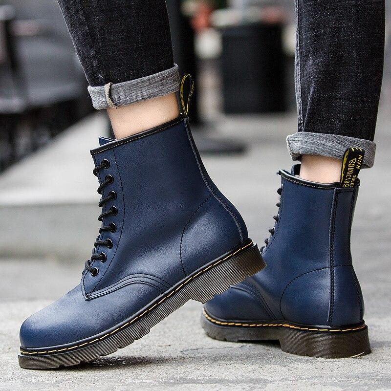 Doc Mart Classic Women Boots British Mains Genuine Matn