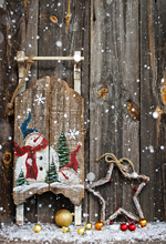 사진 스튜디오 비닐 천으로 크리스마스 배경 나무 눈 파티 사진 배경 빈티지 사진 배경