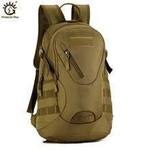Military Tactical Backpack 20L Army Backpack Waterproof Nylon Travel Backpack Rucksack for Hike Trek Camouflage Backpack