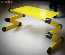 Sufeile ноутбук Стенд Многофункциональный складной стол ноутбук стол кровать диван лоток 360 rolling Регулируемый Портативный Тетрадь стол se20