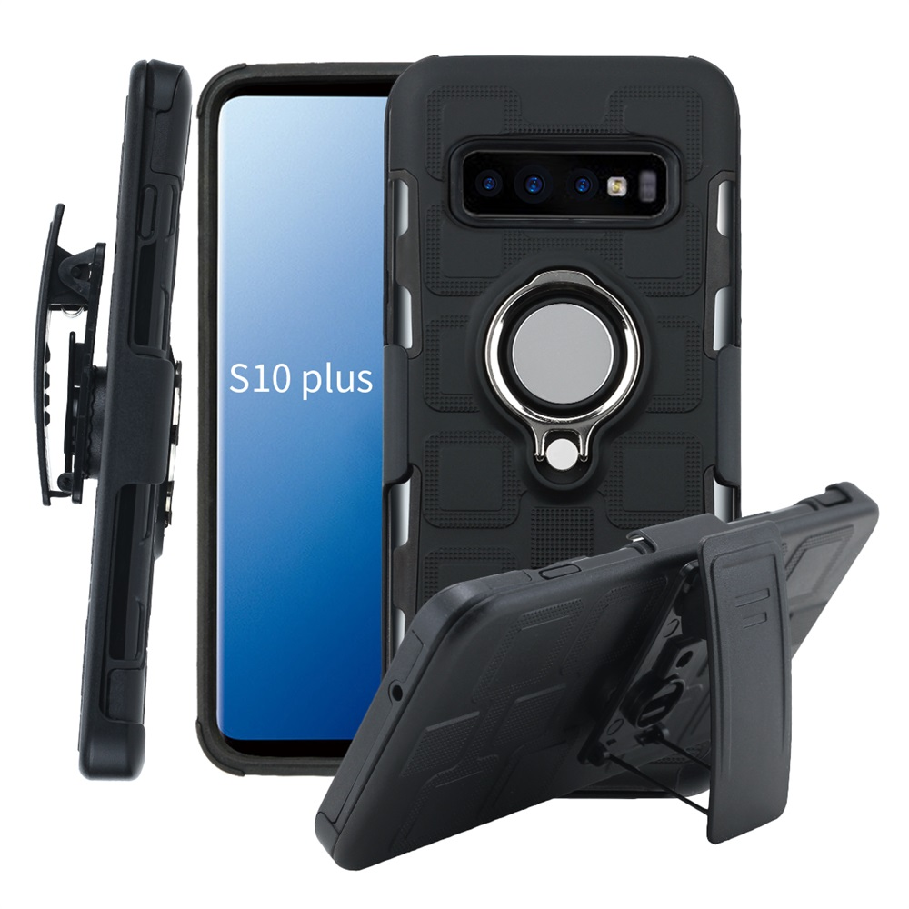 For Samsung S20 Ultra S10E Shockproof Armor Defender Cover galaxy s10e s10 s20 plus 5G Belt Clip Holster Magnet Car Mount case