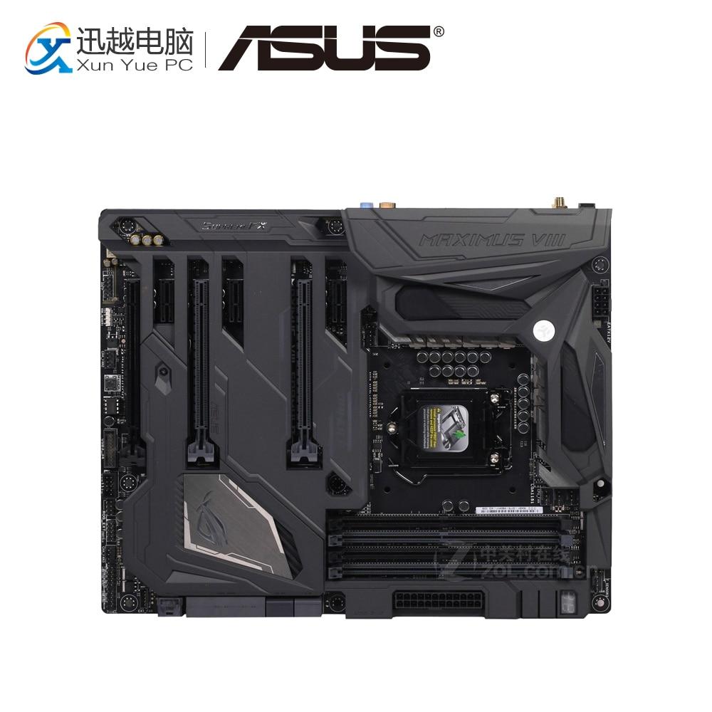 Asus ROG MAXIMUS VIII FORMULA Desktop Motherboard M8F Z170 Socket LGA 1151 i7 i5 i3 DDR4 64G ATX цена