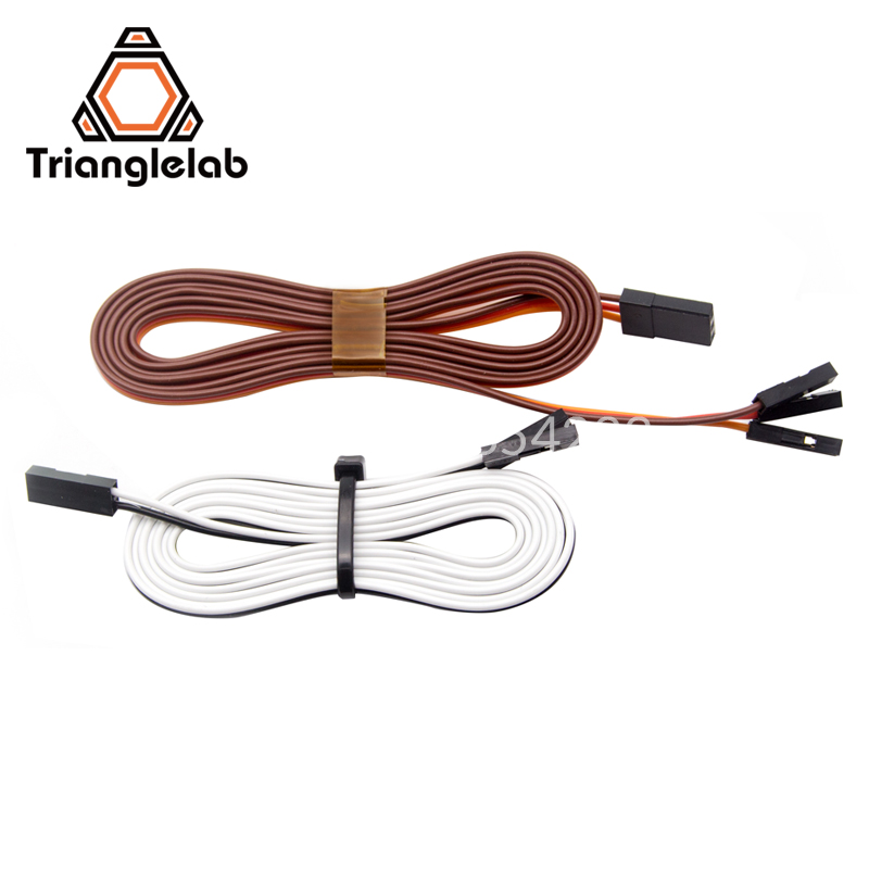 Trianglelab NEW 3D Printer TOUCH 1PCS 80CM Extension wires TL-touch auto bed leveling sensor Extension wires(China)