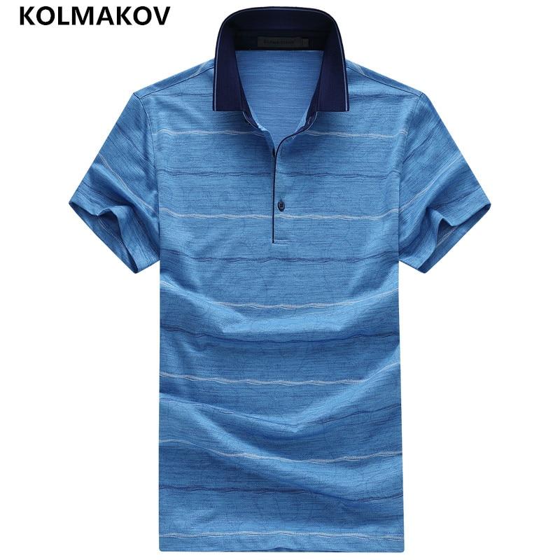 2019 KOLMAKOV Brand   Polo   Shirt Men Fashion Casual Summer Short Sleeve   Polo   Shirt For Man Cotton Camisas   Polo   Masculina Sportwear