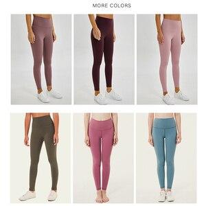 Image 4 - Леггинсы женские с эффектом пуш ап, мягкие эластичные нейлоновые штаны с завышенной талией для фитнеса, пикантные для тренажерного зала и тренировок