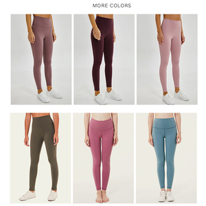 Image 4 - Soft Stretchy Nylon Push Up Leggings Women High Waist Fitness Pants Women Gym  Workout Legging Sexy