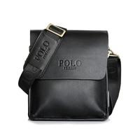 Awen Hot Sell Famous Brand Design Leather Men Bag Casual Business Leather Mens Messenger Bag Vintage