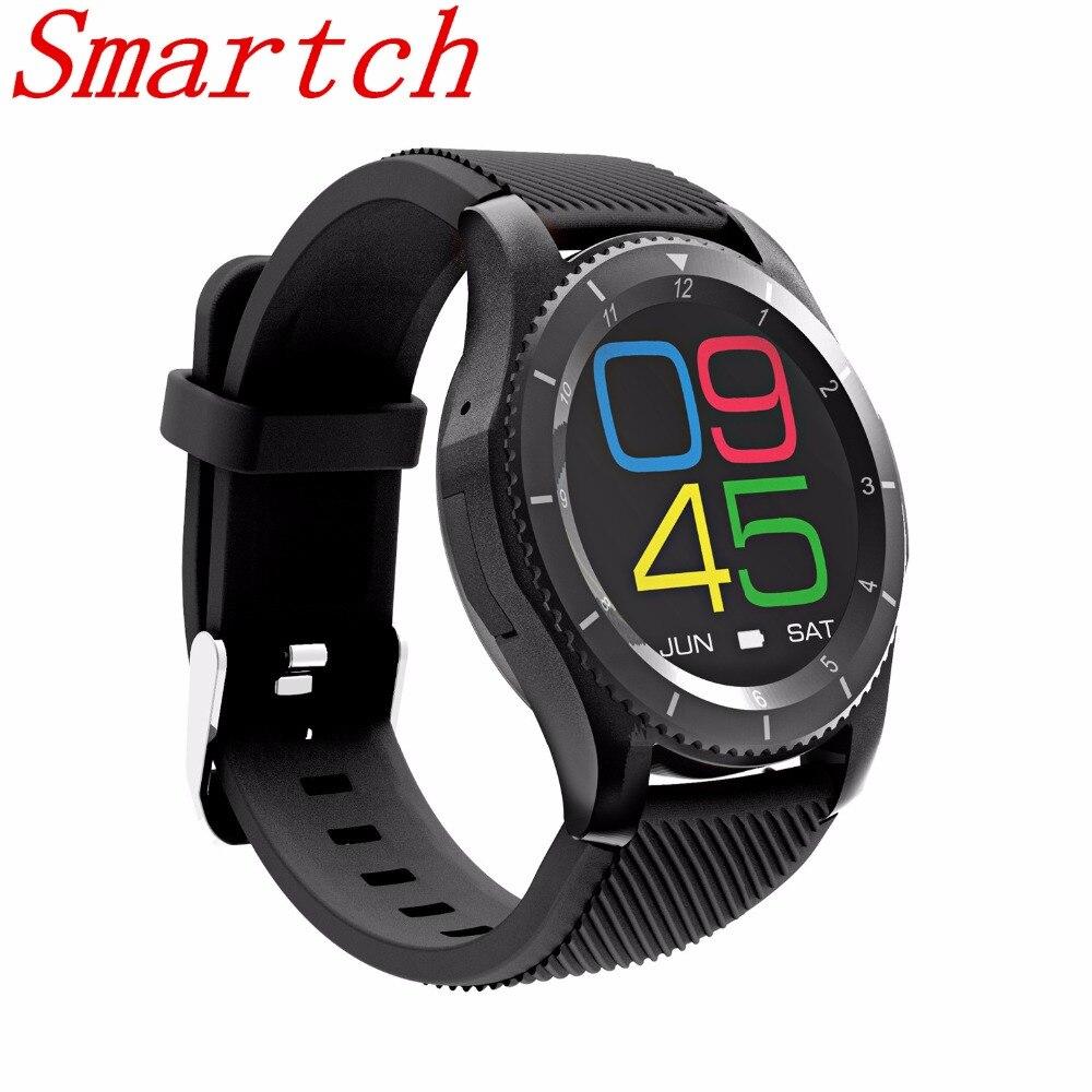 EnohpLX Original DT NO.1 G8 Smartwatch SIM Card Dial Call Message Heart Rate Fitness Track