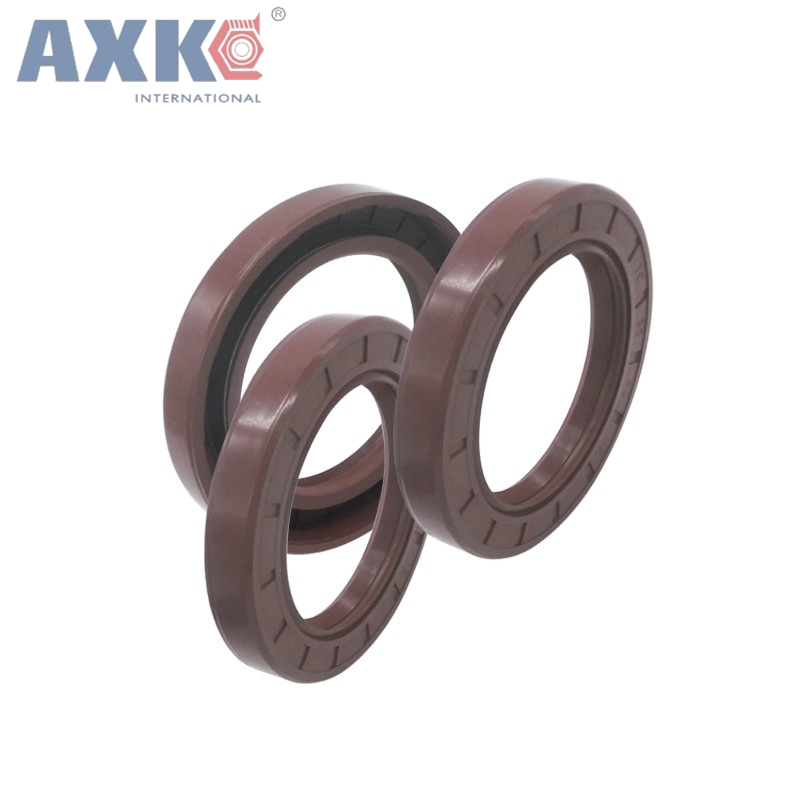 цены на AXK 10PCS Fluorine rubber Fluororubber skeleton oil seal 60*90/95/100/110*8/10/12