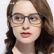 FONEX di alta qualità TR90 Anti Blue Light occhiali uomo occhiali da lettura occhiali di protezione occhiali da gioco per Computer per donne AB01