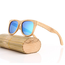 Best Selling Unisex Men and Women Vintage Natural Bamboo Wooden Polariod Sunglasses