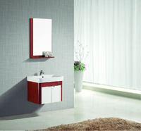JOMOO Bathroom Vanities with mirror locker self glazing basin towel rack PVC material Modern style bathroom cabinet for bathroom