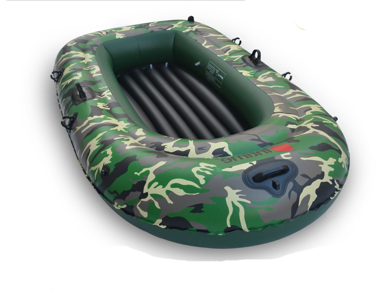 4 persons Inflatable Boat Thicken 0.45mm PVC Camouflage Inflatable Boat Drifting craft Kayak Fishing Boat Canoeing pool float