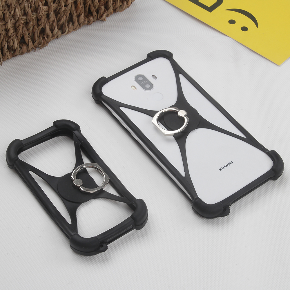 For Google Pixel XL 2 Case Rotate Finger Ring Elastic Silicon Smartphone Universal Cover Phone Cases